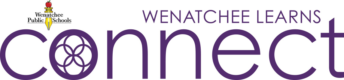 Wenatchee Learns Connect Logo Image