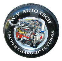 W.V. Auto Tech tire graphic