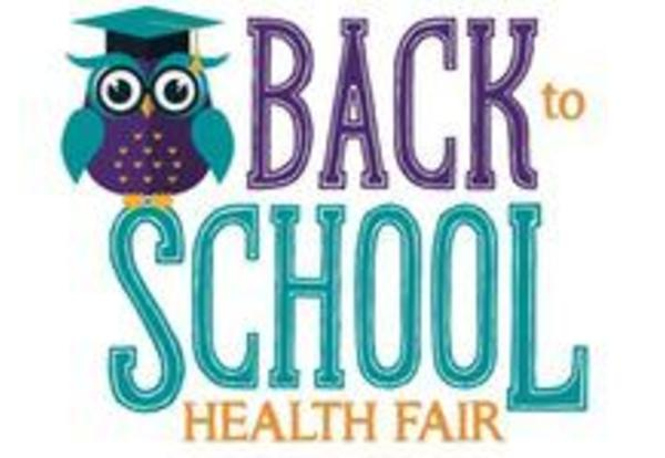 NEW DATE for Back to School Health Fair: Saturday August 15, 2015, 9 a.m - noon