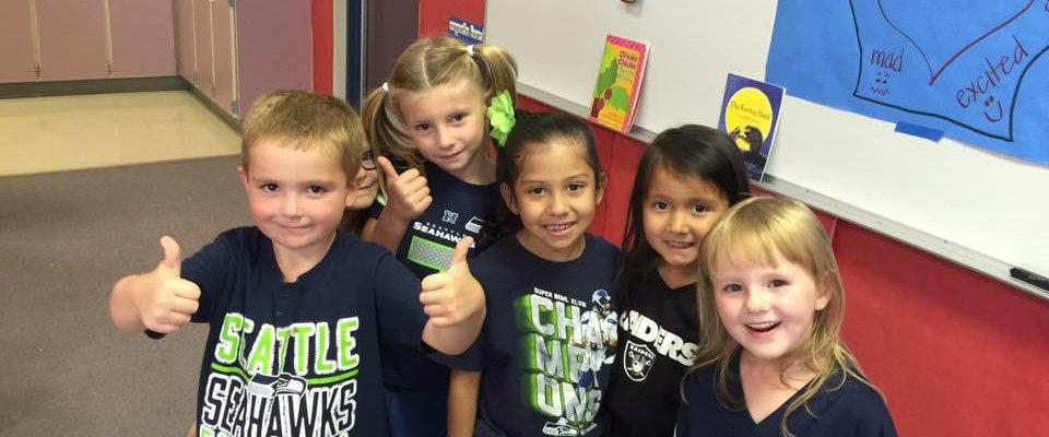 Seahawks Spirit Day