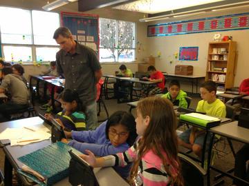 Middle School iPad Classroom