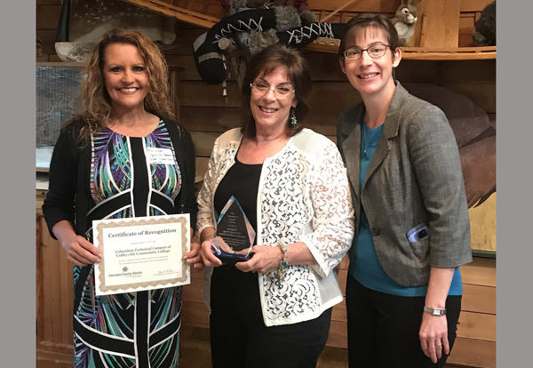 CCC Columbus Campus Receives Community Impact Award