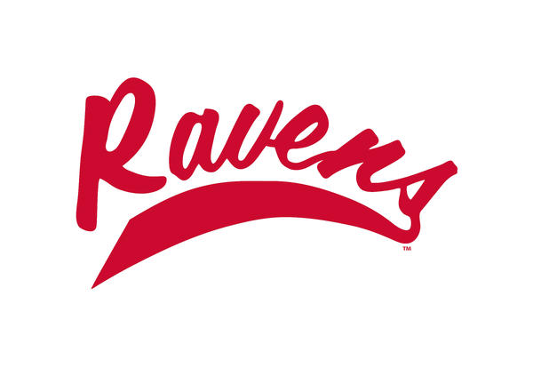 Ravens Red Swoosh Athletic Logo