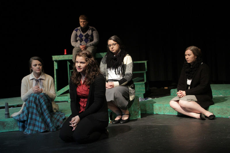 Women of Lockerbie Cast on Stage October 2017
