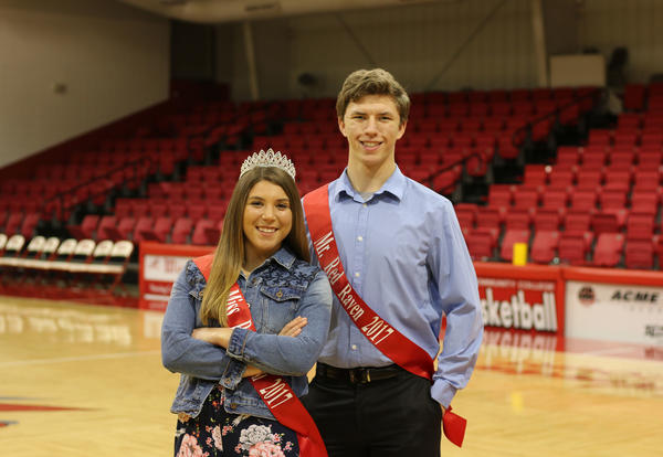 Brylee Brasher and Kenneth Dodson Crowned as Mr. and Miss Redd T. Raven