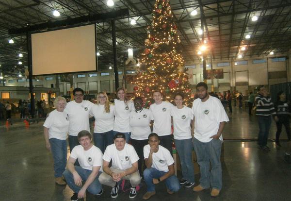 Eta Gamma Participates in Operation Christmas Child