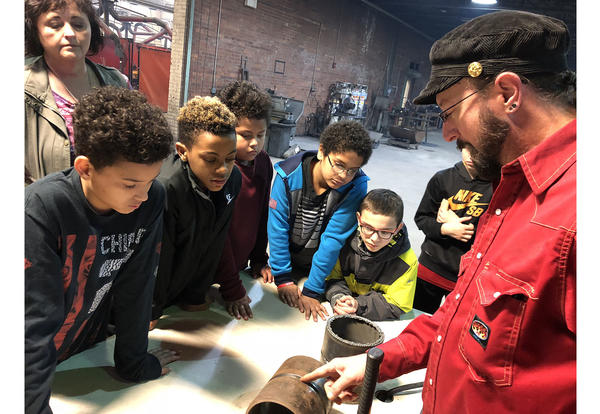 Coffeyville Elementary Students Explore Technical Careers