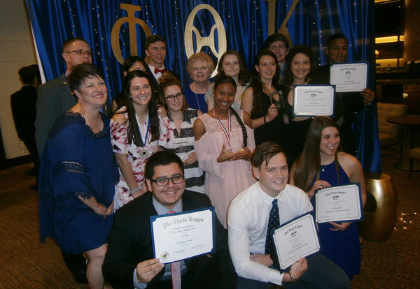 Eta Gamma Named Most Distinguished Chapter