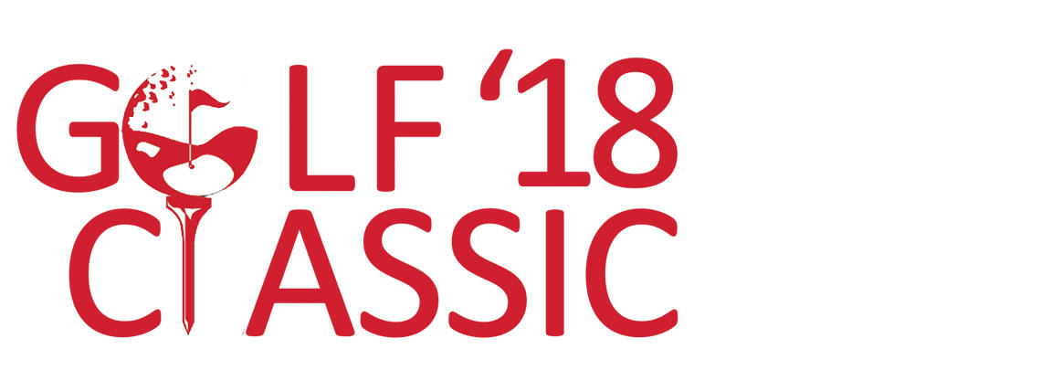 Golf Classic 2018 Illustration in Red Letters