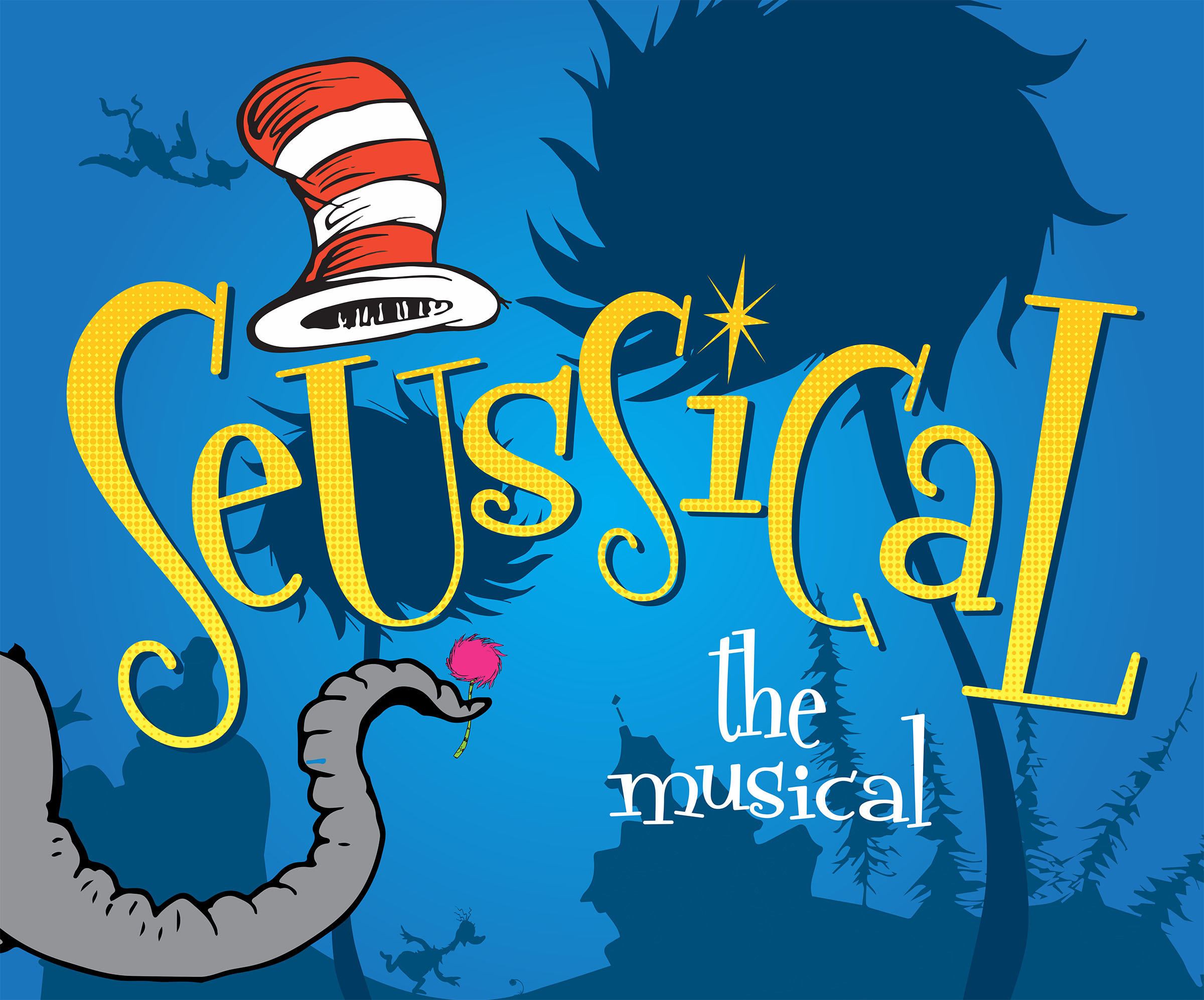Seussical the Musical Promotion Poster