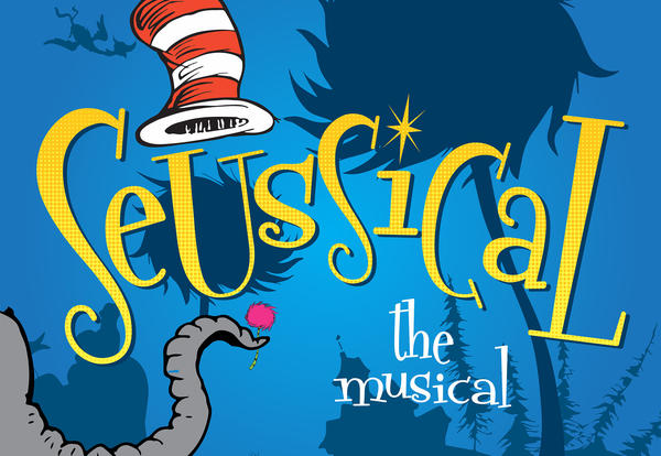 Seussical the Musical Illustration With Cat in the Hat and Horton