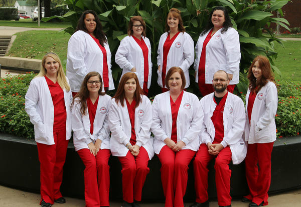Coffeyville Community College's 2017-2018 LPN Program Students