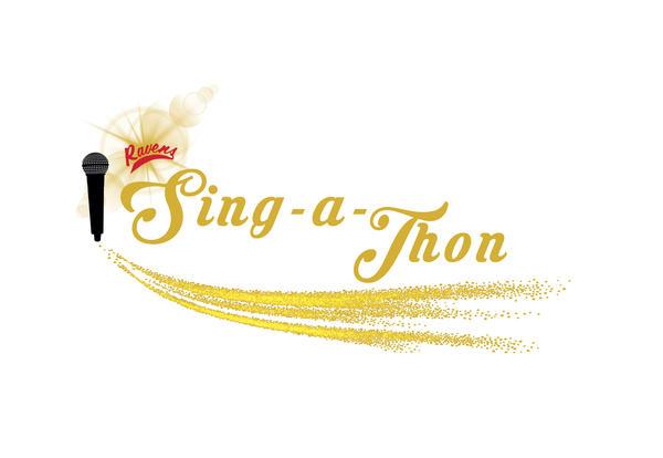 Ravens Sing-a-Thon Logo