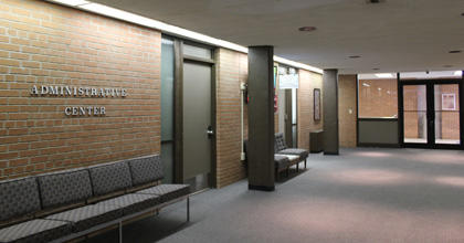 Administration Center in Arts and Sciences Building