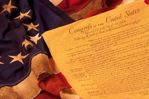 Declaration of Independence Stock Image