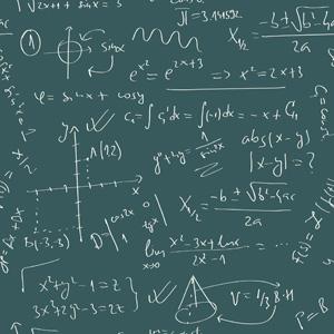 Math Formulas Stock Image