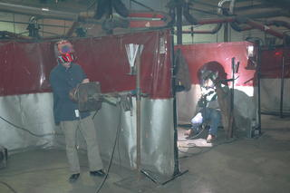 Interior View of Shop Area at the Welding Technology Institute
