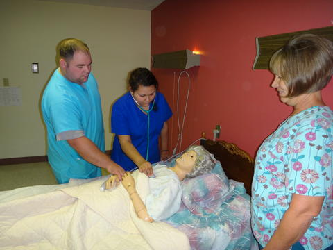 CNA Students in Clinical Practice