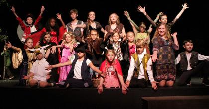 Children's Summer Theatre Performance Photo