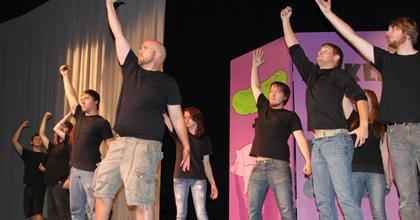 Pickled Pork Improv Comedy on Stage