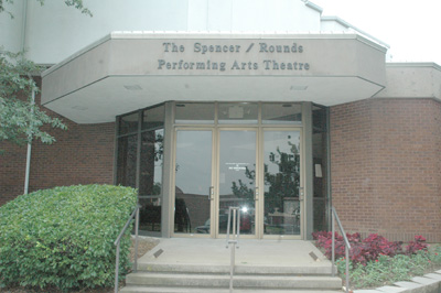 Spencer/Rounds Theatre Entrance