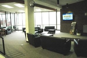 TV Lounge Area Within Game Room