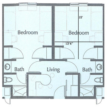 Typical Walker Hall Floor Plan