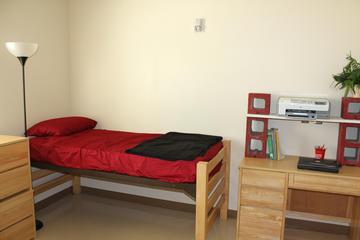 Walker Hall Bedroom Area