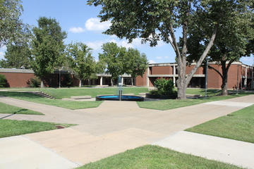 Wide View of Main Campus Looking Toward Weinberg Hall