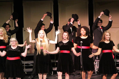 Soundsations Performing at College Concert