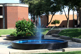 Main Campus Courtyard with Fountain