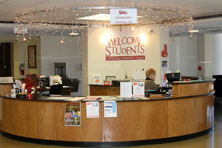 Information Desk in Student Services