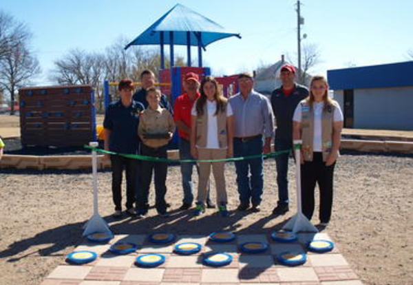 CCC's Technical Campus Assists in Girl Scout Silver Award Project