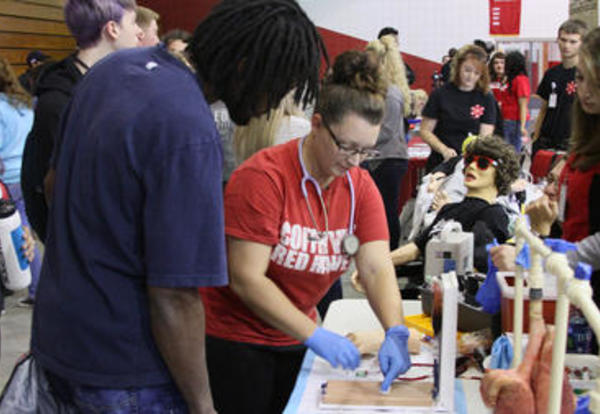 CCC Welcomes Nearly 200 Future Red Ravens at Senior Day