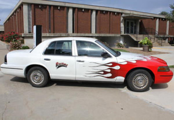 CCC Recruiter to Hit the Road in Flaming Raven Car