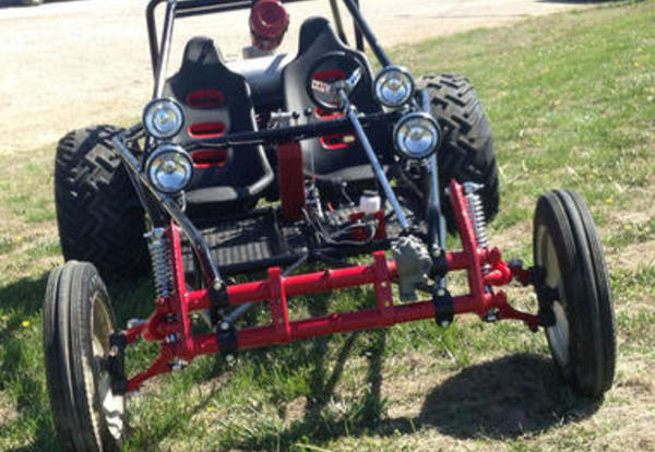 CCC Columbus Campus Donates Custom Dune Buggy to Scholarship Auction