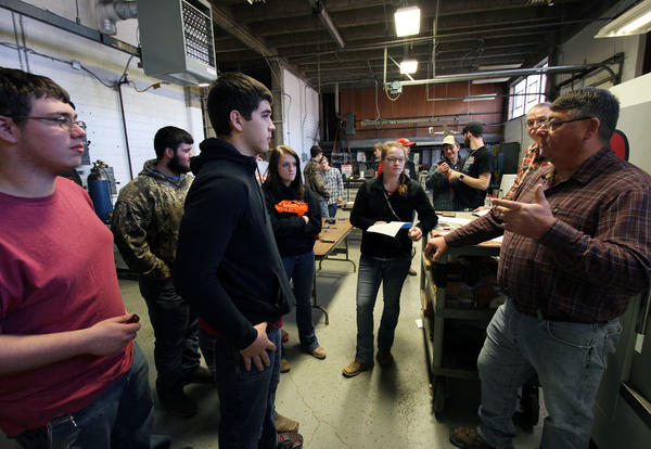 Hundreds of Area High School Students Learn About CCC Technical Programs at Tech Days