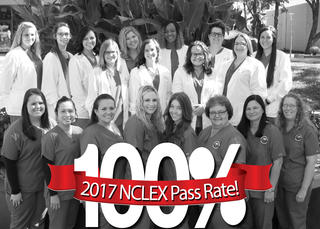 Nursing Program Group Photo of Students