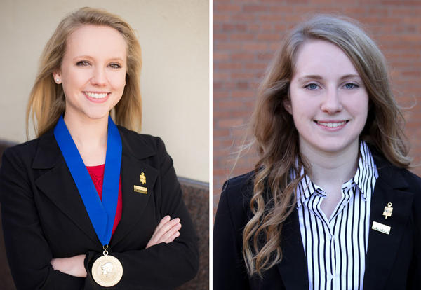 Shepard, Rettele Selected for ALL-KANSAS Academic Team