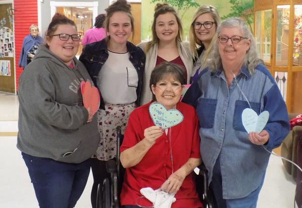 CCC Students Give A Heart for Valentine's Day