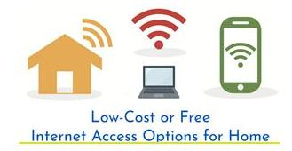 Low-cost or Free Internet Access Options for Home