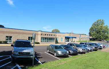 Hudsonville High School Building image
