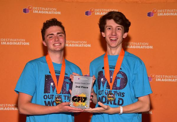 Students Achieve 2nd Place Worldwide