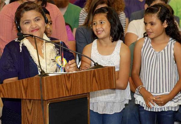 FCPS Parent Wins State-Level Award