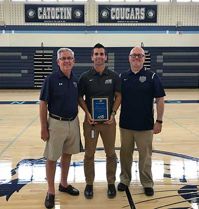 photo of 2017 sportsmanship award winner - CHS