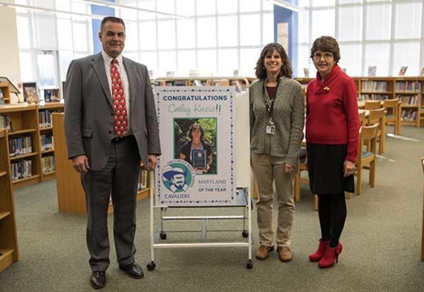 Maryland School Counselor of the Year: Cathy Kazio