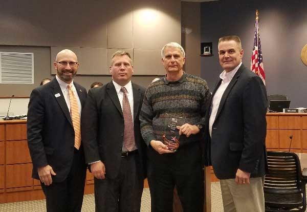 Baclawski Earns Veteran in Education Service Award