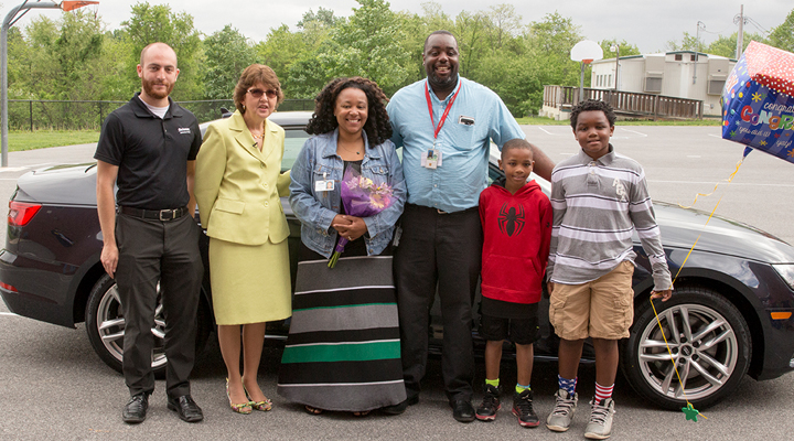picture of Karima Sharper and family