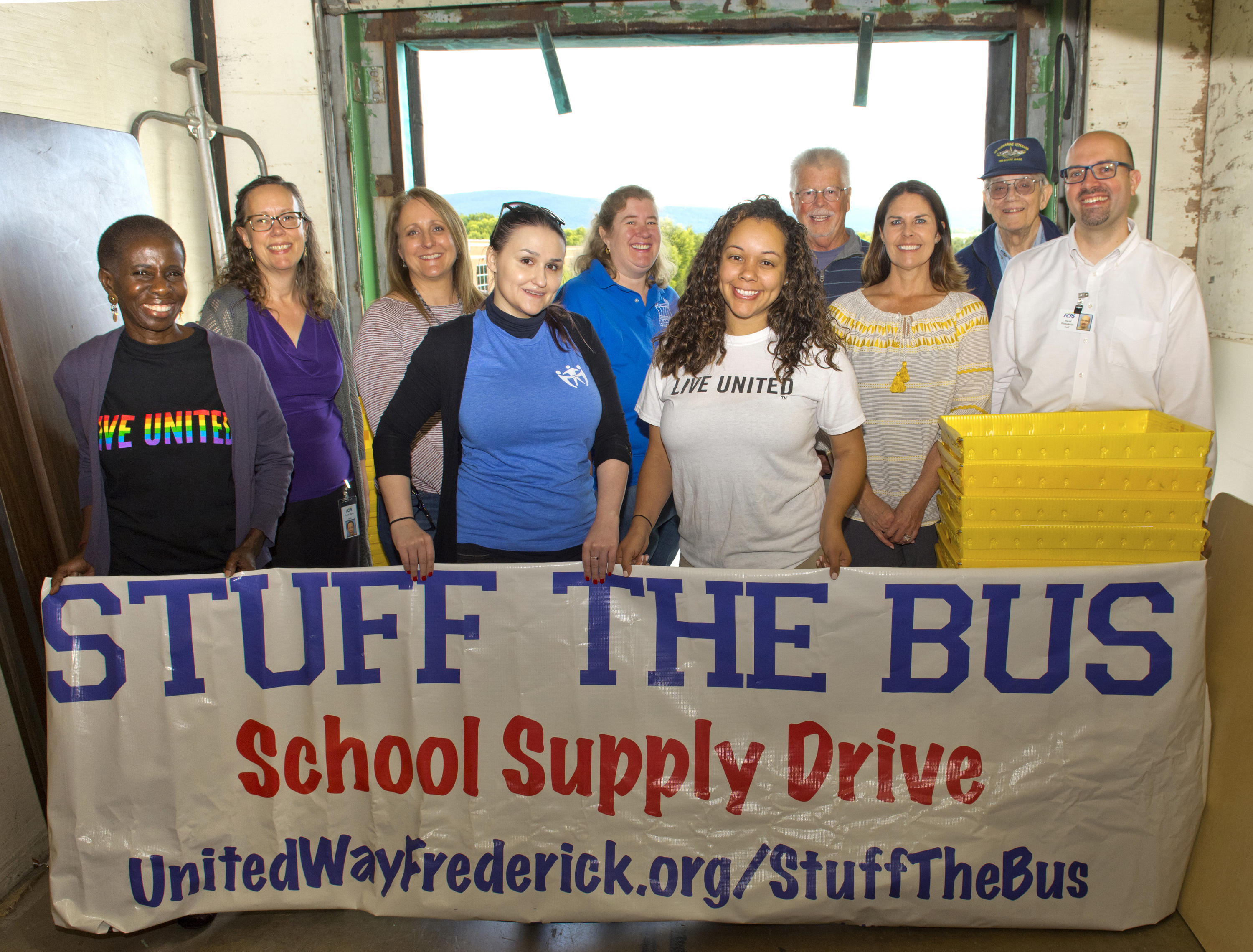 Stuff the Bus Preparations 2019