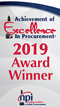 Purchasing 2018 Achievement of Excellence in Procurement
